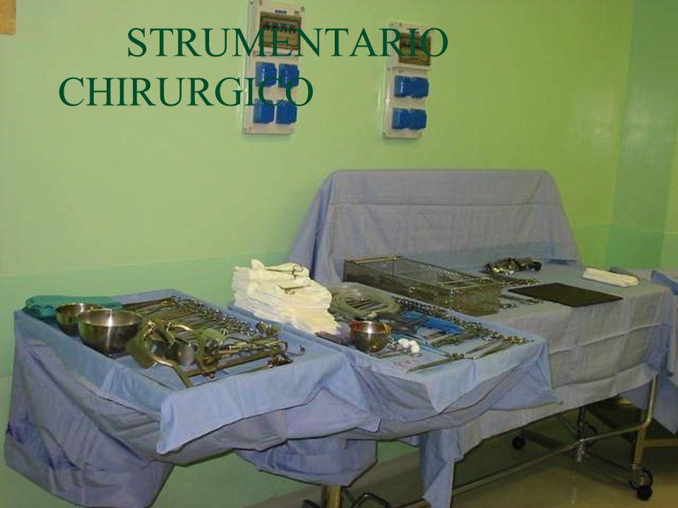STRUMENTARIO CHIRURGICO