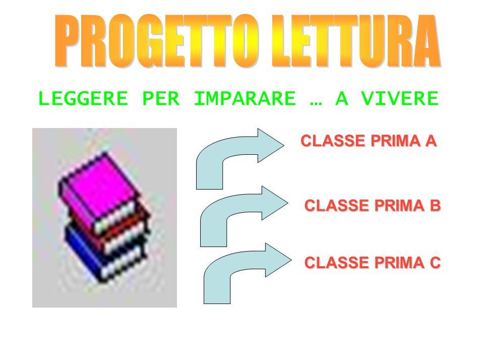 PROGETTO LETTURA LEGGERE PER IMPARARE … A VIVERE CLASSE PRIMA A