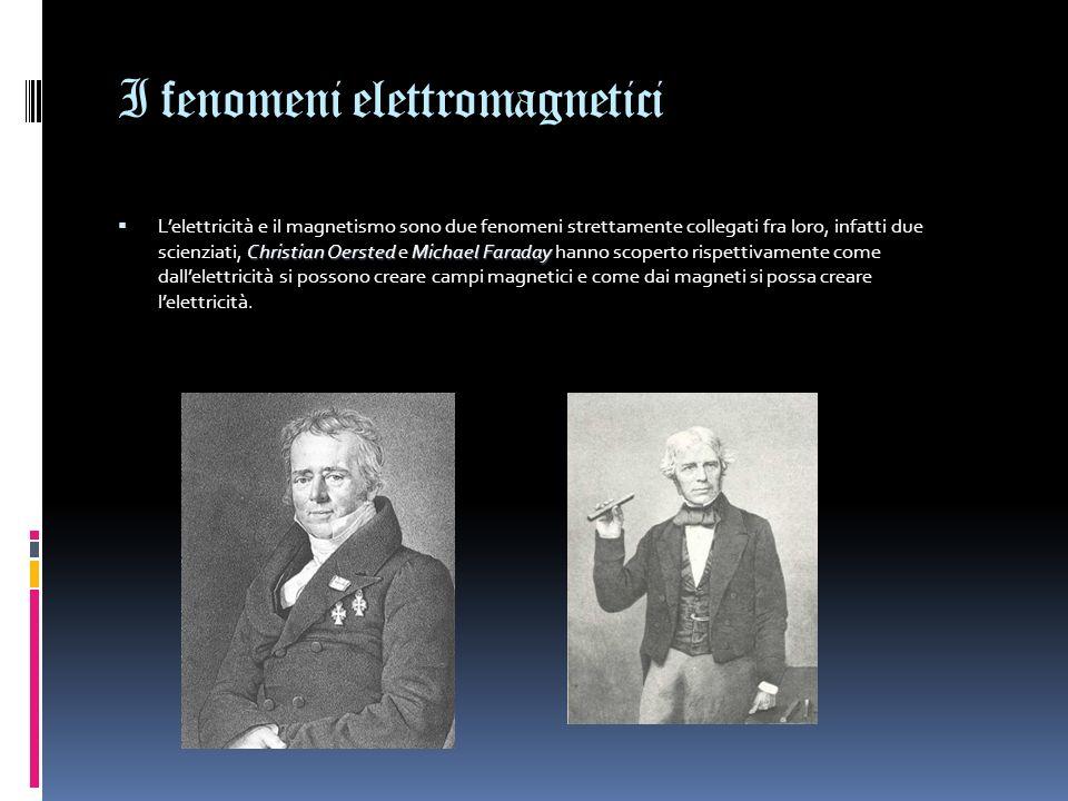 I fenomeni elettromagnetici