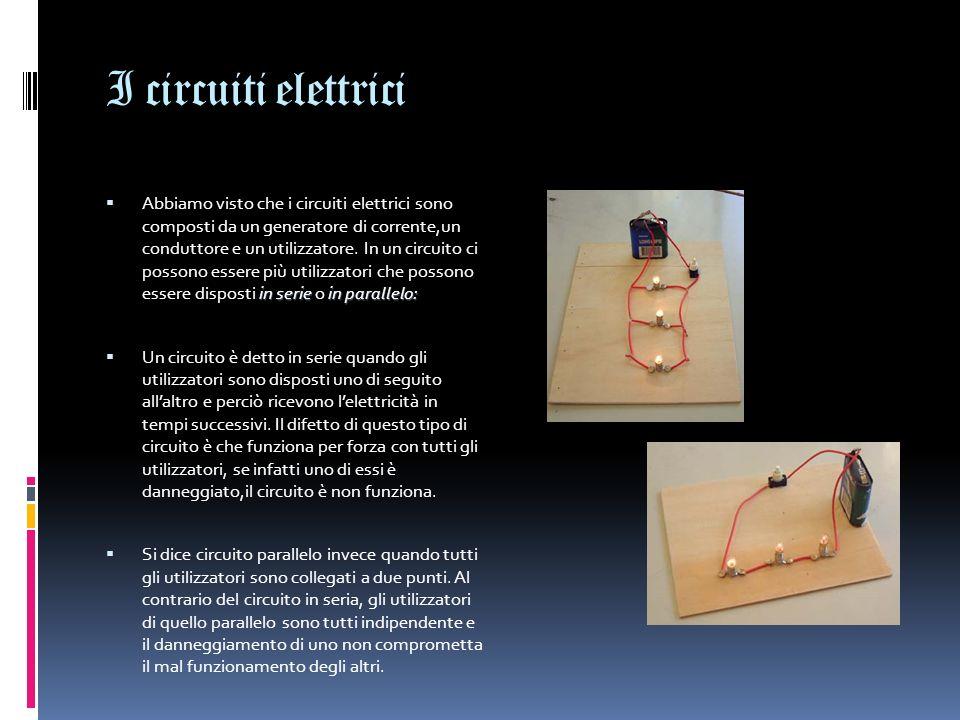 I circuiti elettrici