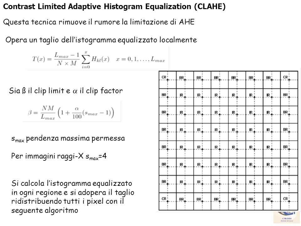 Contrast Limited Adaptive Histogram Equalization (CLAHE)