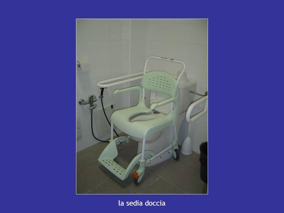 la sedia doccia