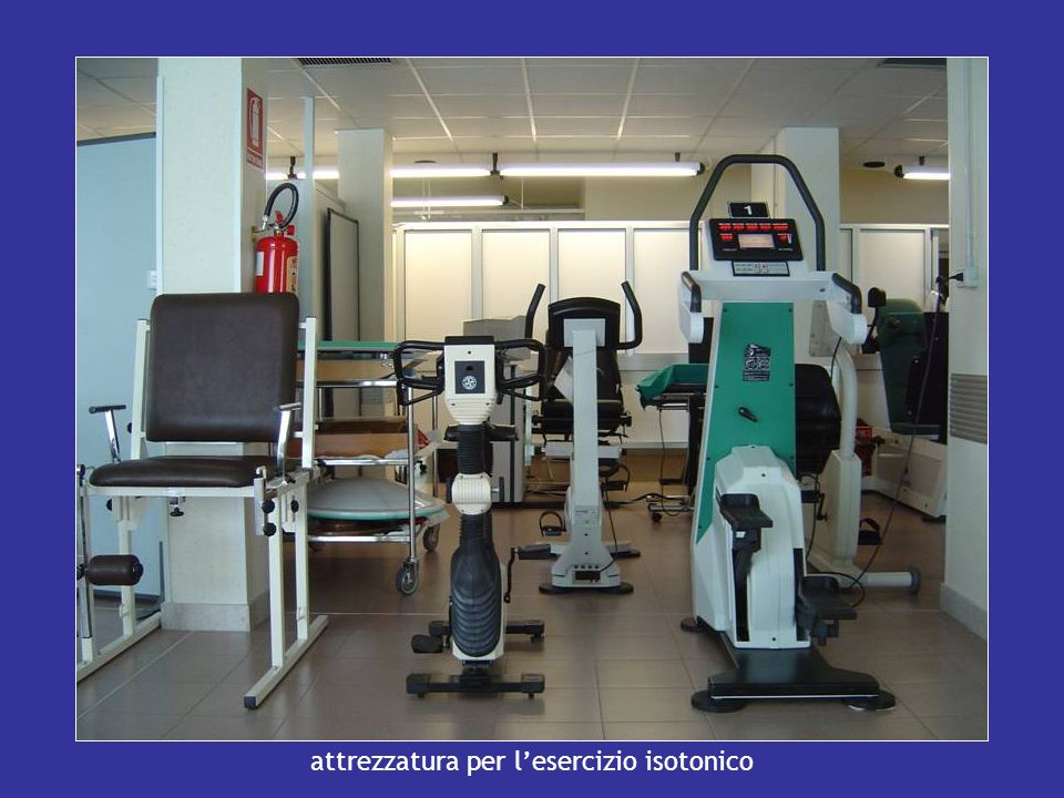 attrezzatura per l'esercizio isotonico