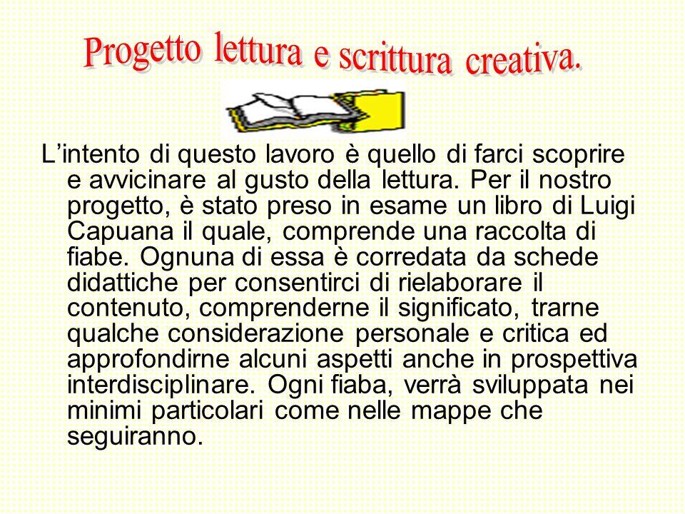 Progetto lettura e scrittura creativa.