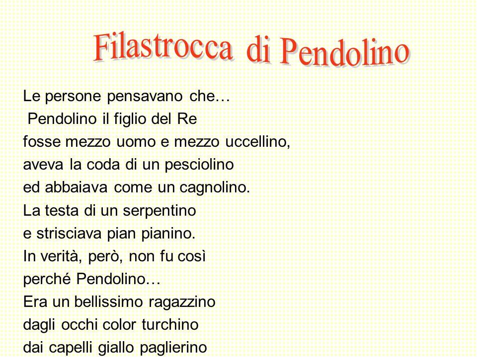 Filastrocca di Pendolino