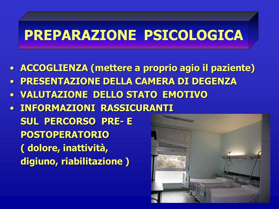 PREPARAZIONE PSICOLOGICA