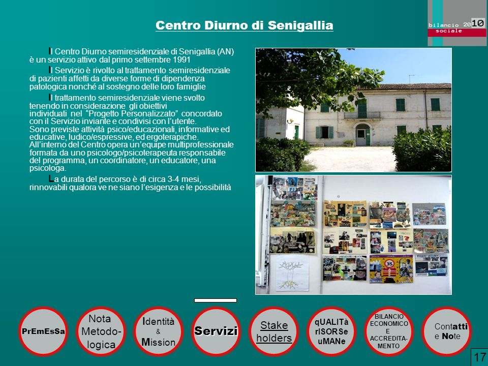 Centro Diurno di Senigallia