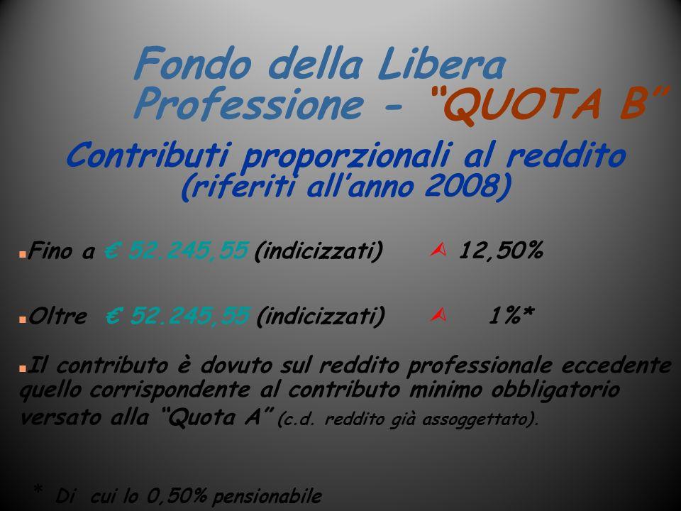 Fondo della Libera Professione - QUOTA B