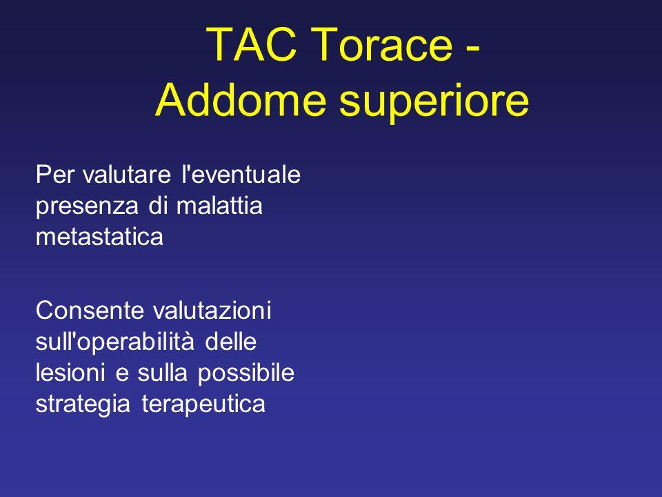 TAC Torace - Addome superiore