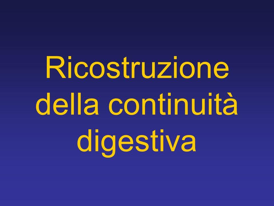 Ricostruzione della continuità digestiva