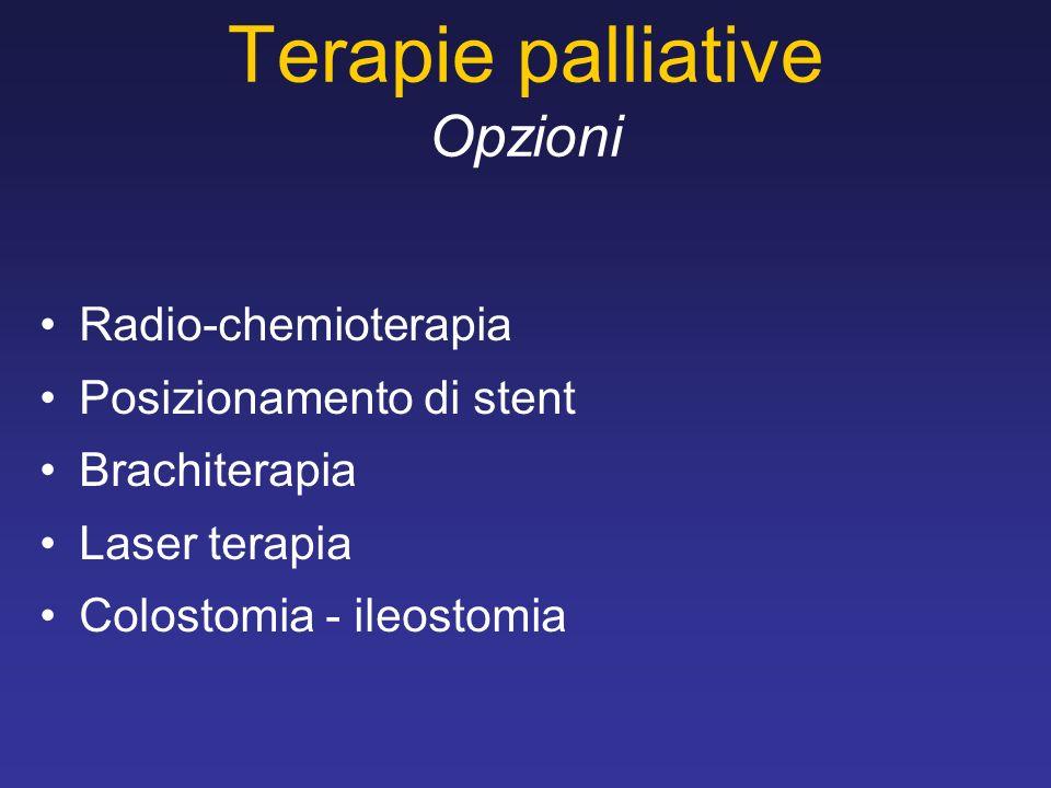 Terapie palliative Opzioni
