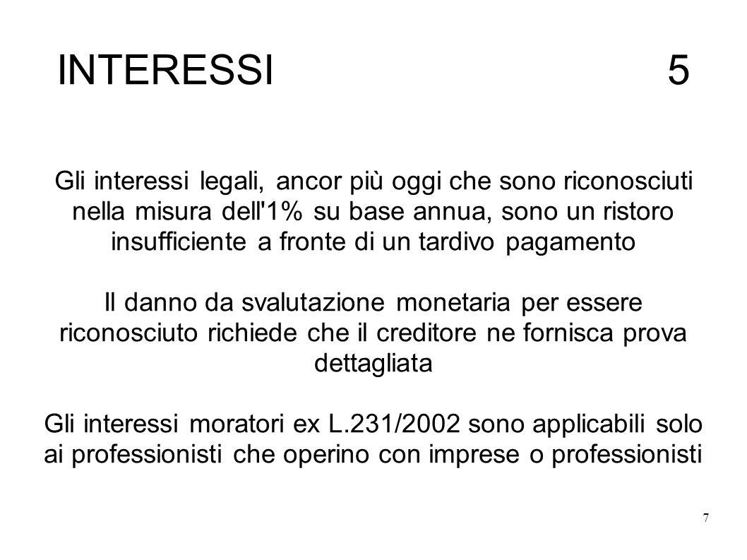 INTERESSI 5