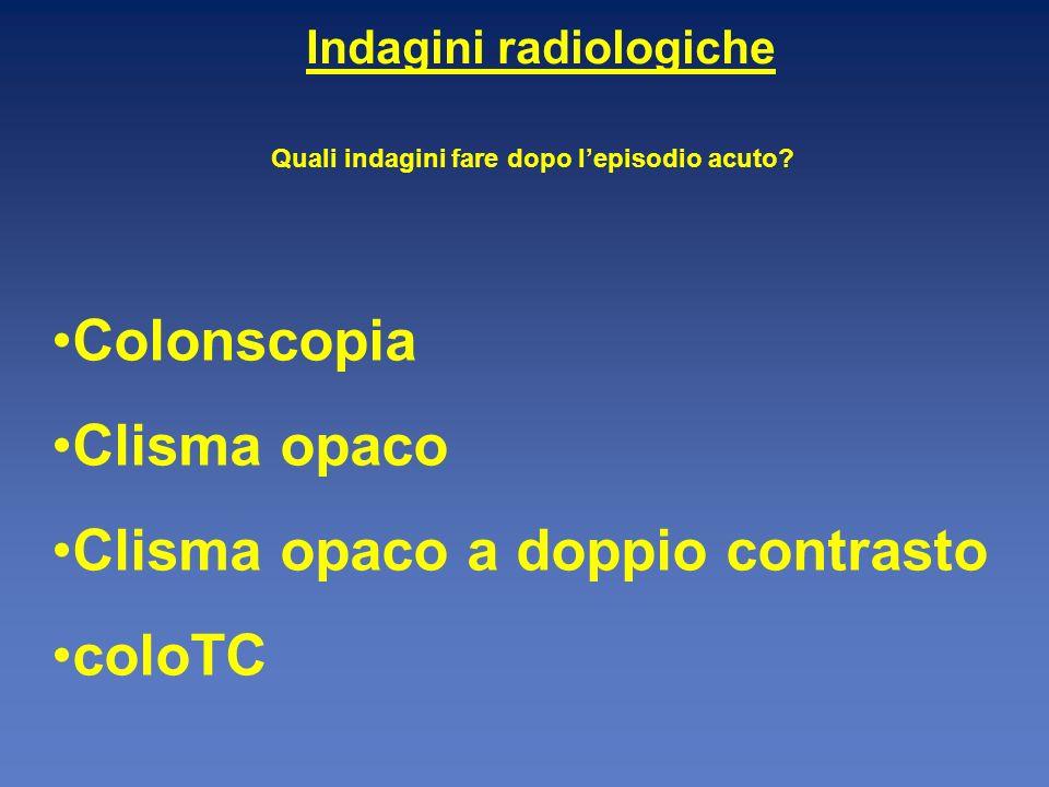 Indagini radiologiche Quali indagini fare dopo l'episodio acuto