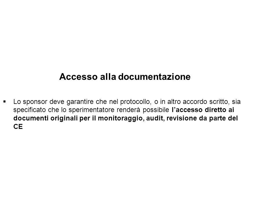Accesso alla documentazione
