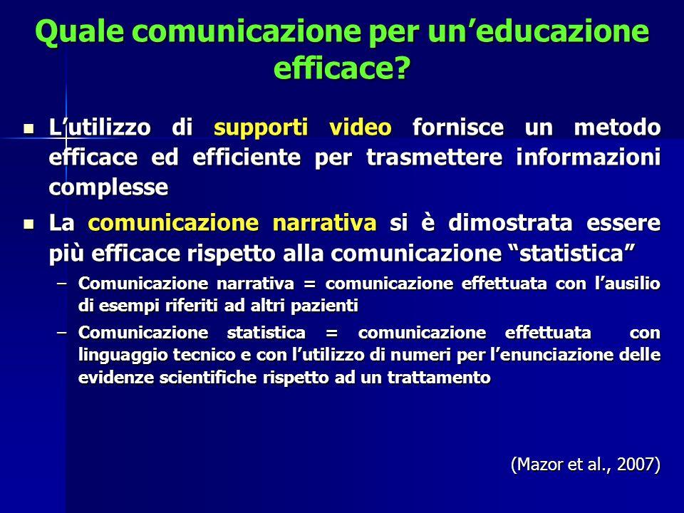 Quale comunicazione per un'educazione efficace