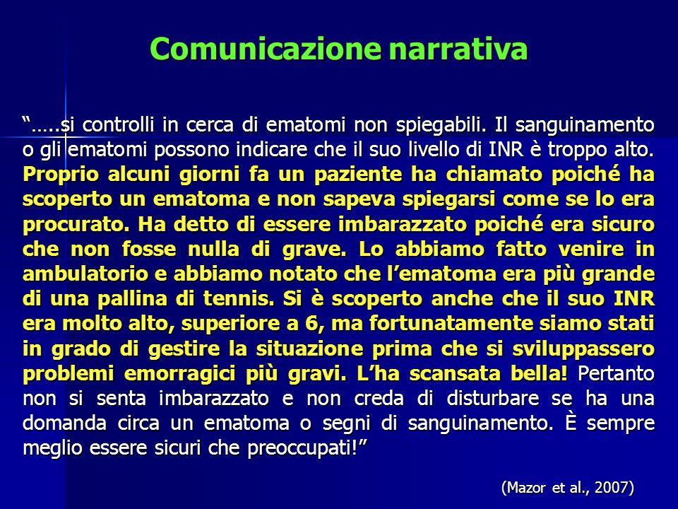 Comunicazione narrativa
