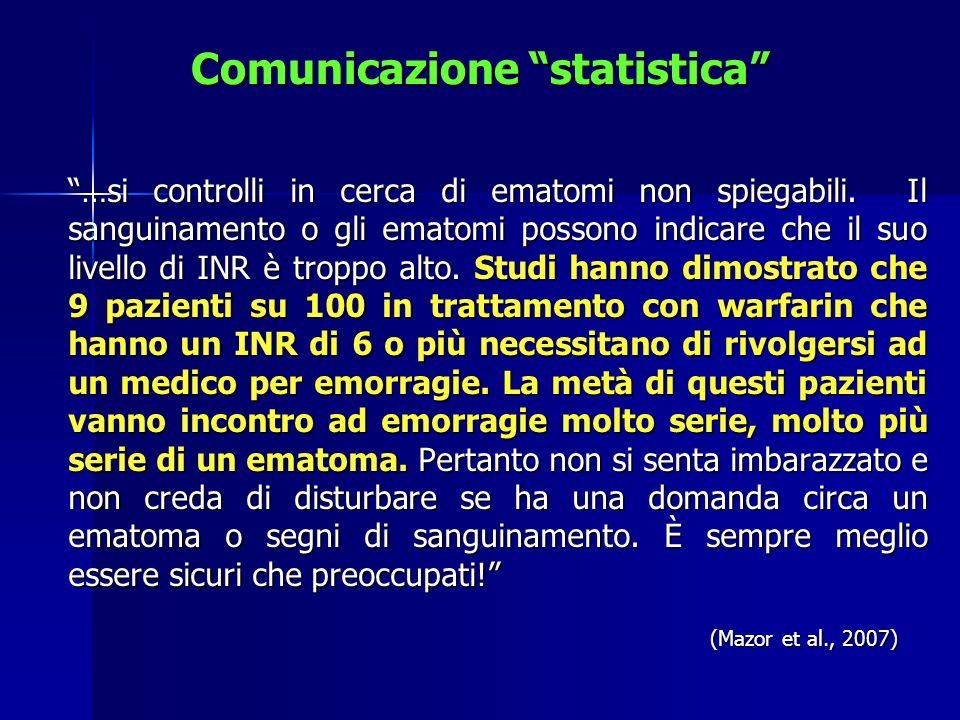 Comunicazione statistica