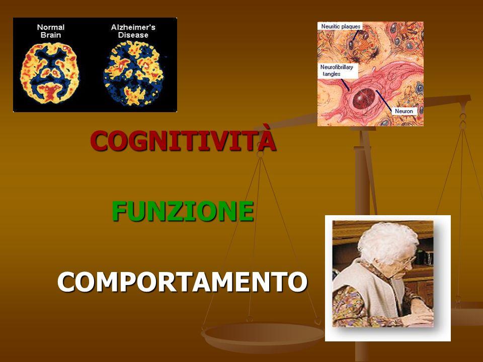 COGNITIVITÀ FUNZIONE COMPORTAMENTO