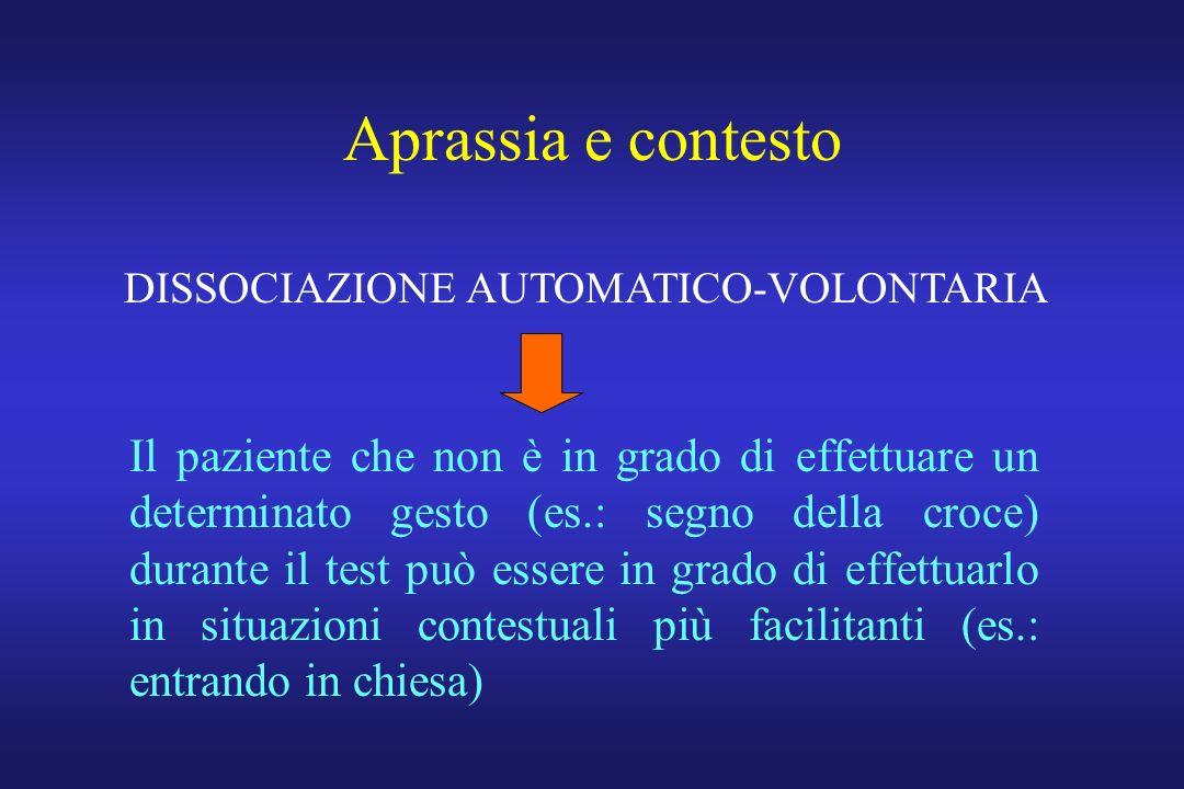 DISSOCIAZIONE AUTOMATICO-VOLONTARIA