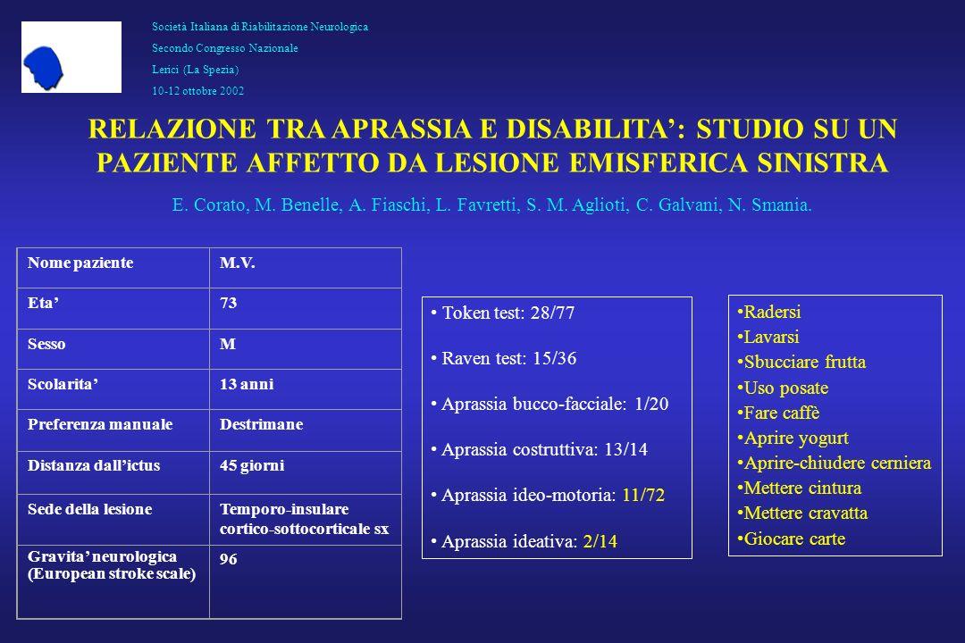 Società Italiana di Riabilitazione Neurologica