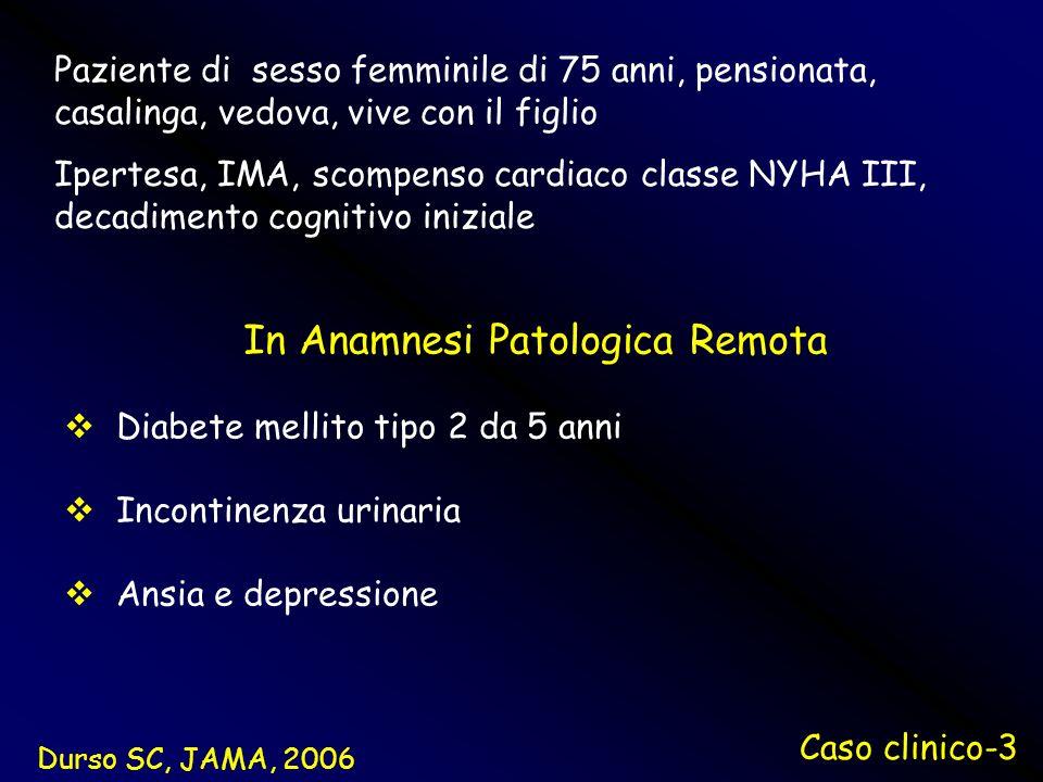 In Anamnesi Patologica Remota
