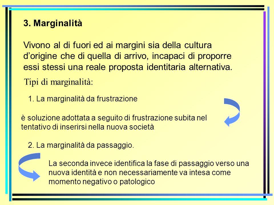 3. Marginalità