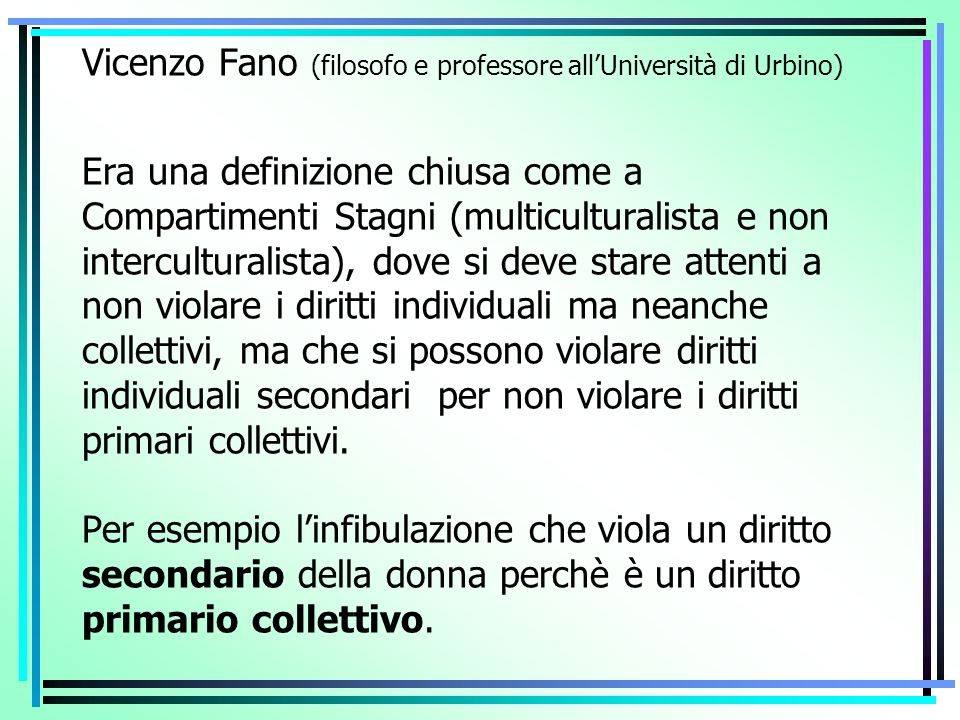 Vicenzo Fano (filosofo e professore all'Università di Urbino)