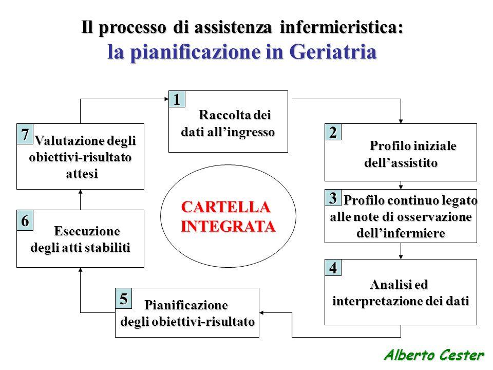 Il processo di assistenza infermieristica: la pianificazione in Geriatria