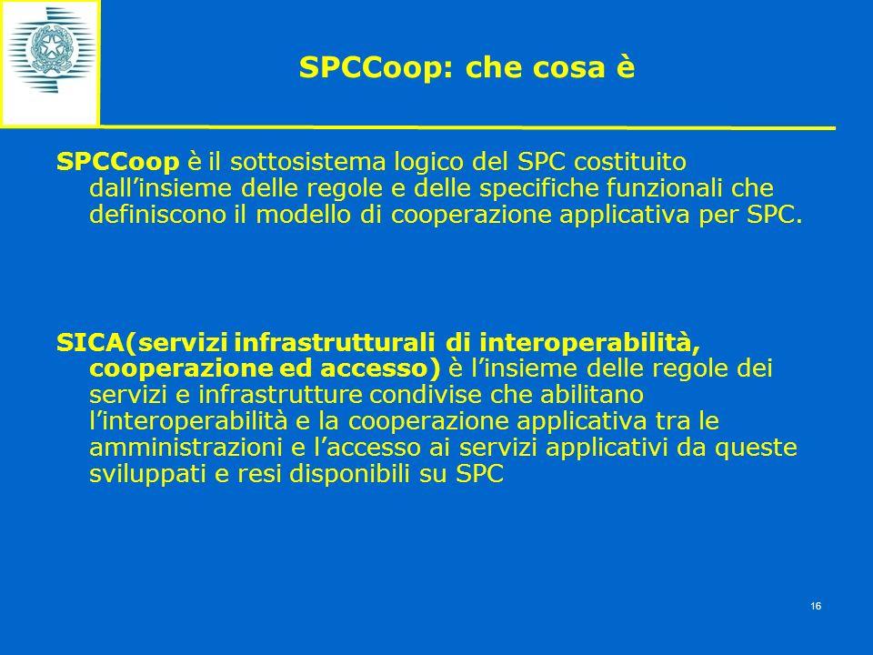 SPCCoop: che cosa è