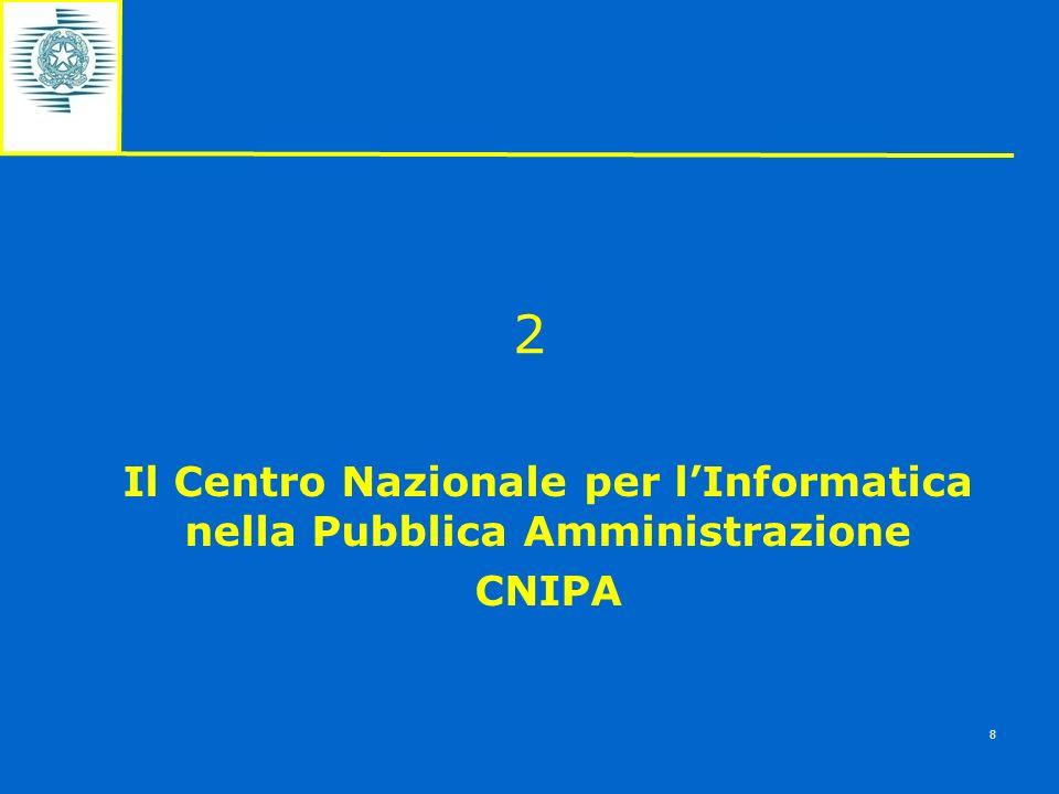Il Centro Nazionale per l'Informatica nella Pubblica Amministrazione