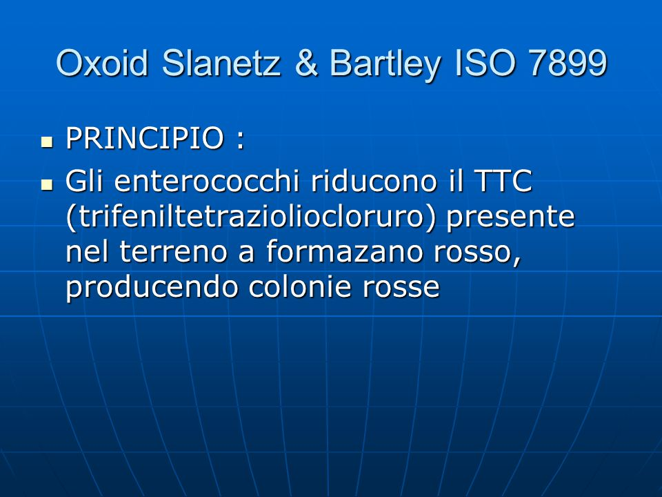 Oxoid Slanetz & Bartley ISO 7899