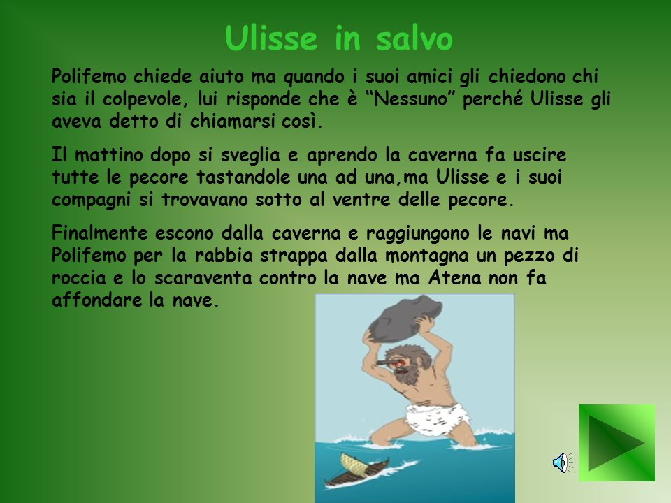 Ulisse in salvo