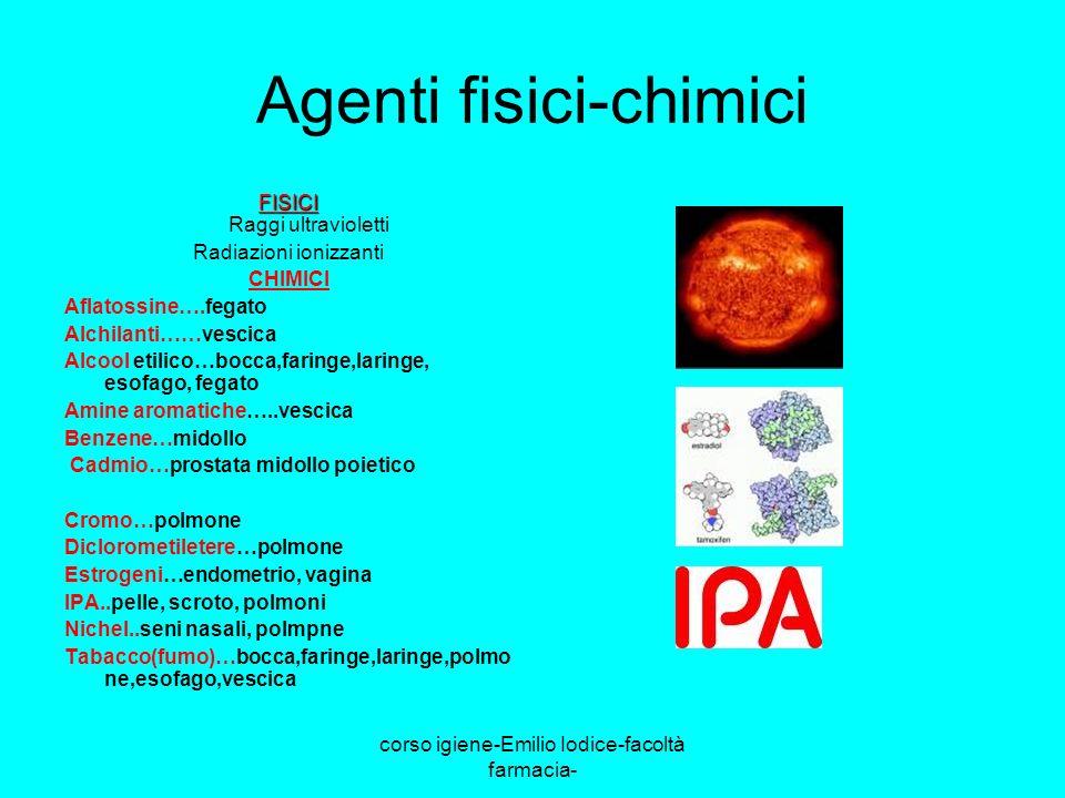 Agenti fisici-chimici