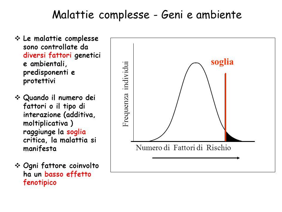 Malattie complesse - Geni e ambiente