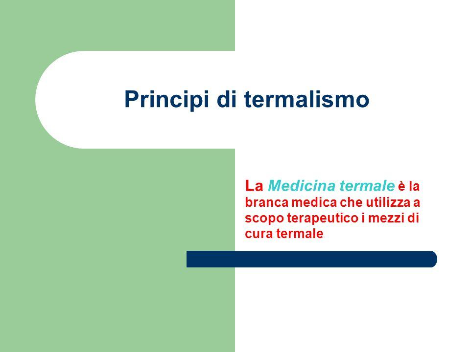 Principi di termalismo