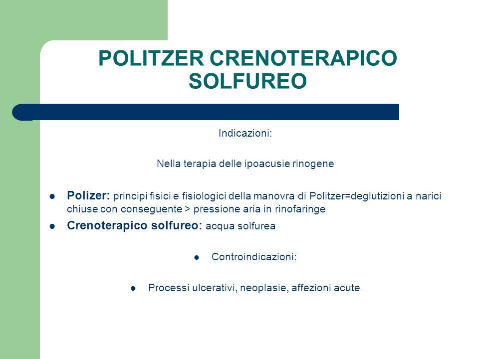 POLITZER CRENOTERAPICO SOLFUREO