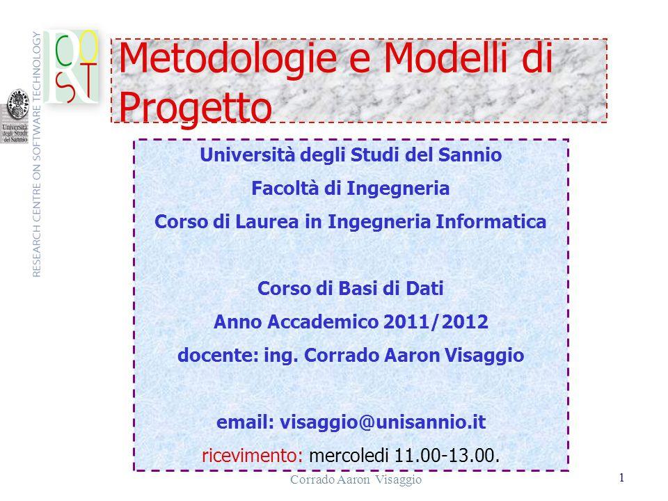 Metodologie e Modelli di Progetto