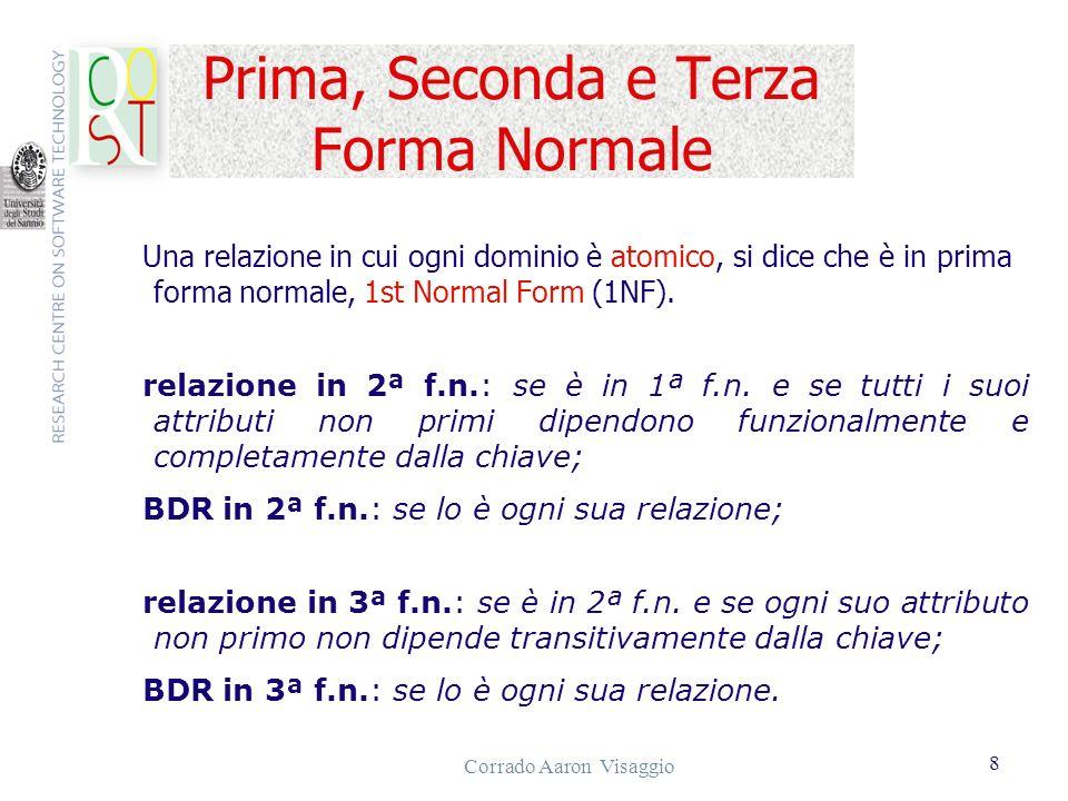 Prima, Seconda e Terza Forma Normale
