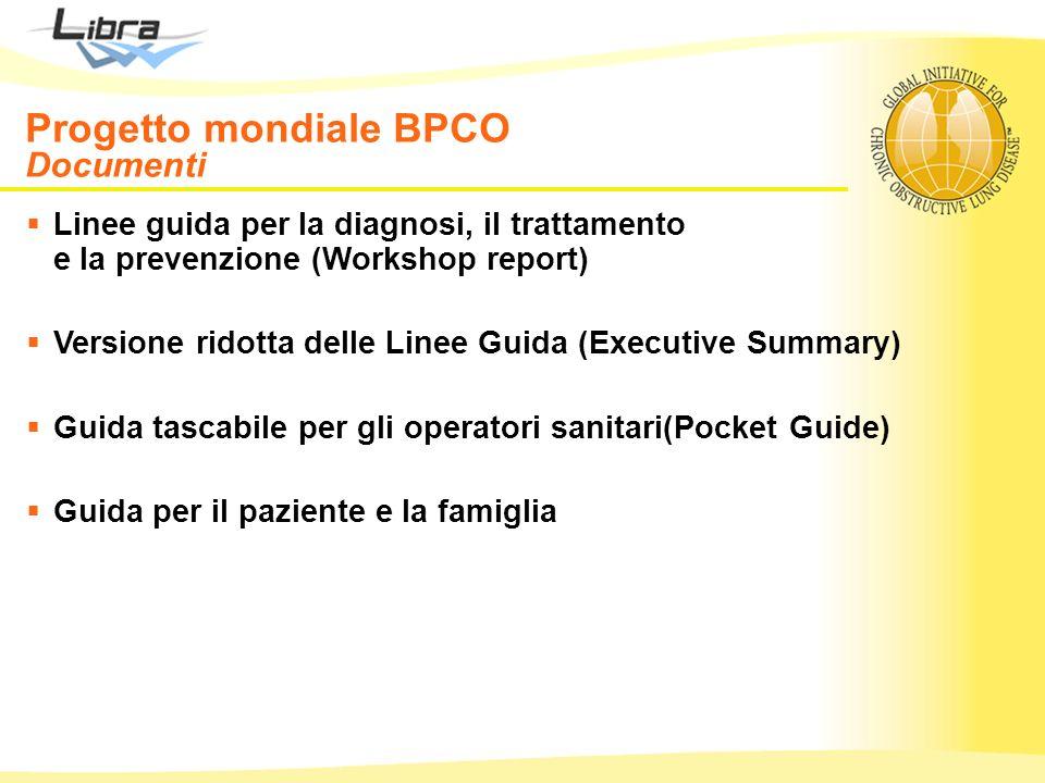 Progetto mondiale BPCO Documenti
