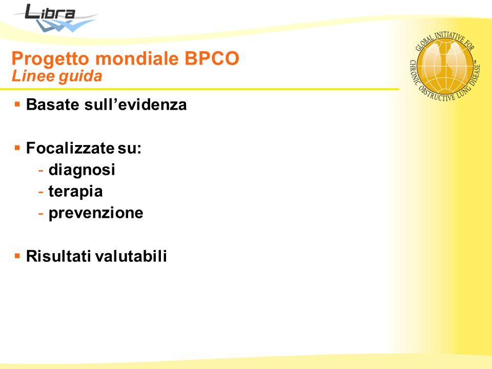 Progetto mondiale BPCO Linee guida