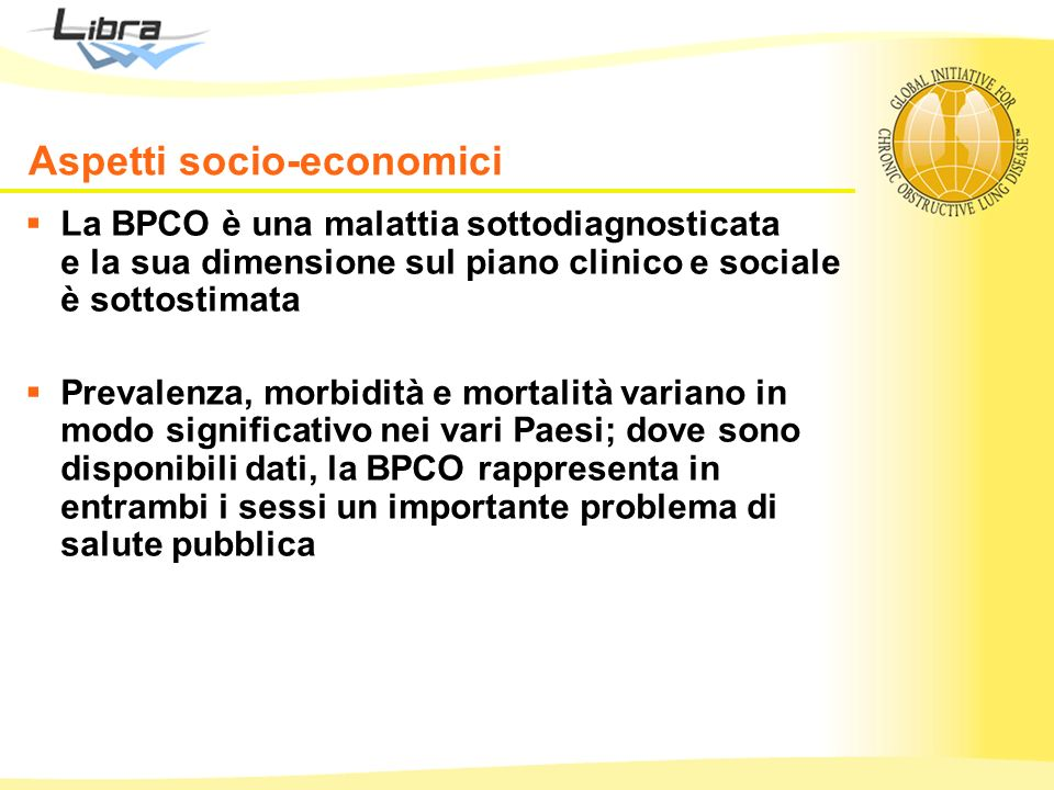 Aspetti socio-economici