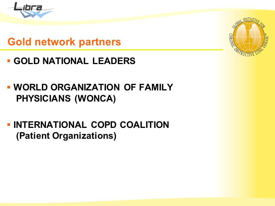 Gold network partners GOLD NATIONAL LEADERS
