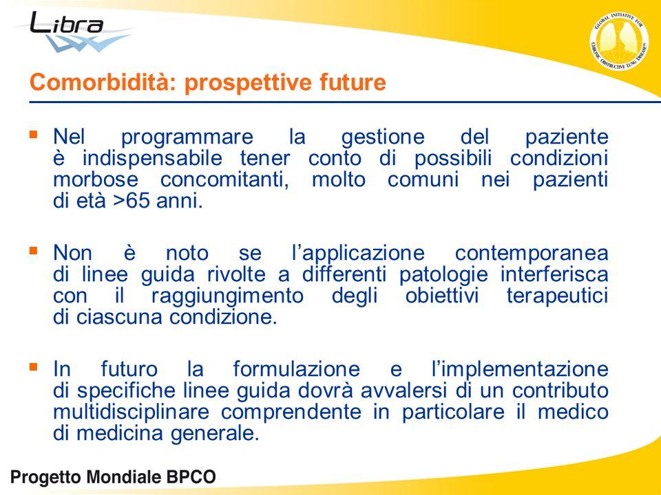 Comorbidità: prospettive future