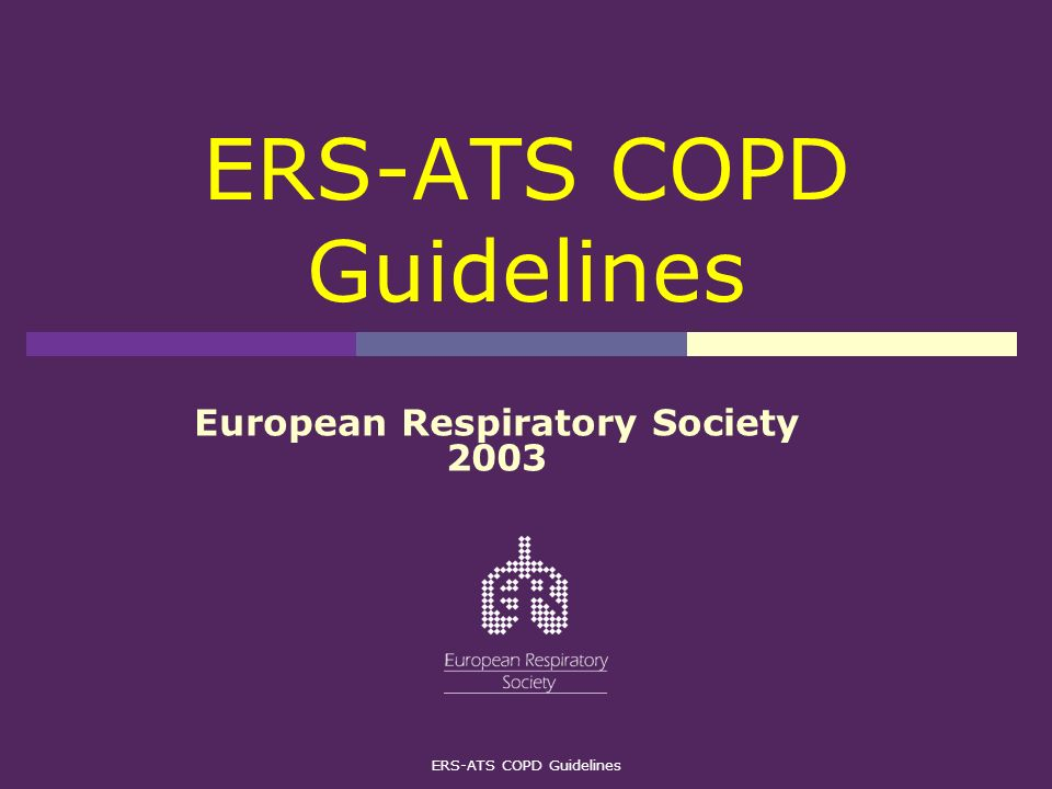 ERS-ATS COPD Guidelines