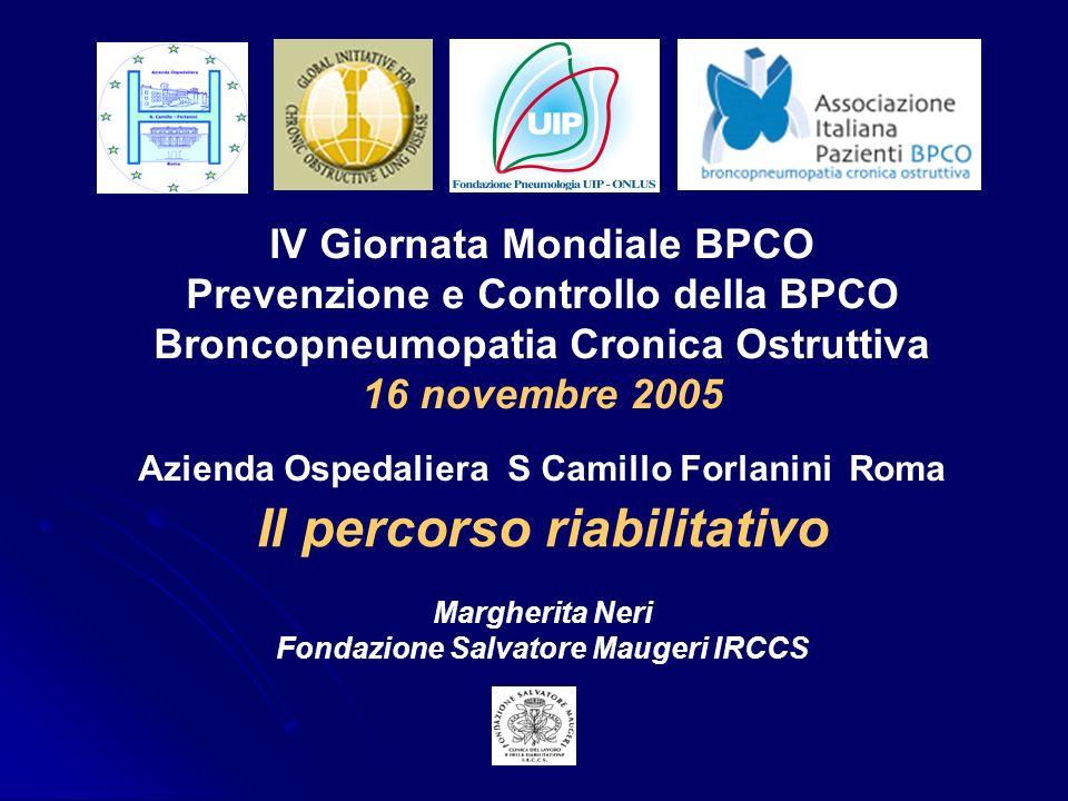 Il percorso riabilitativo Fondazione Salvatore Maugeri IRCCS