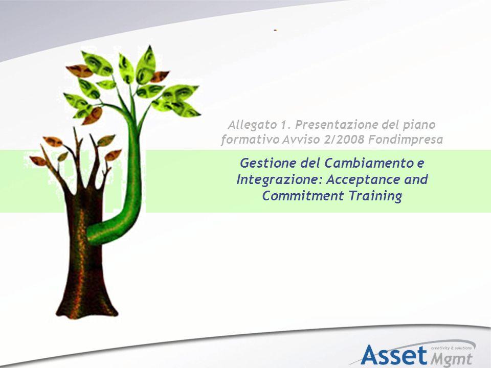 Allegato 1. Presentazione del piano formativo Avviso 2/2008 Fondimpresa