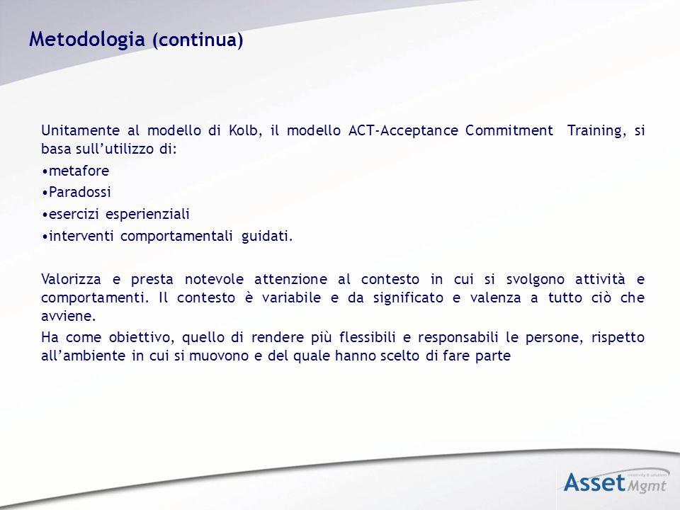 Metodologia (continua)