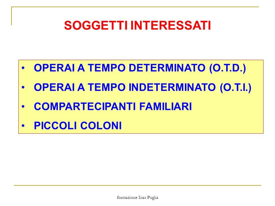 formazione Inas Puglia