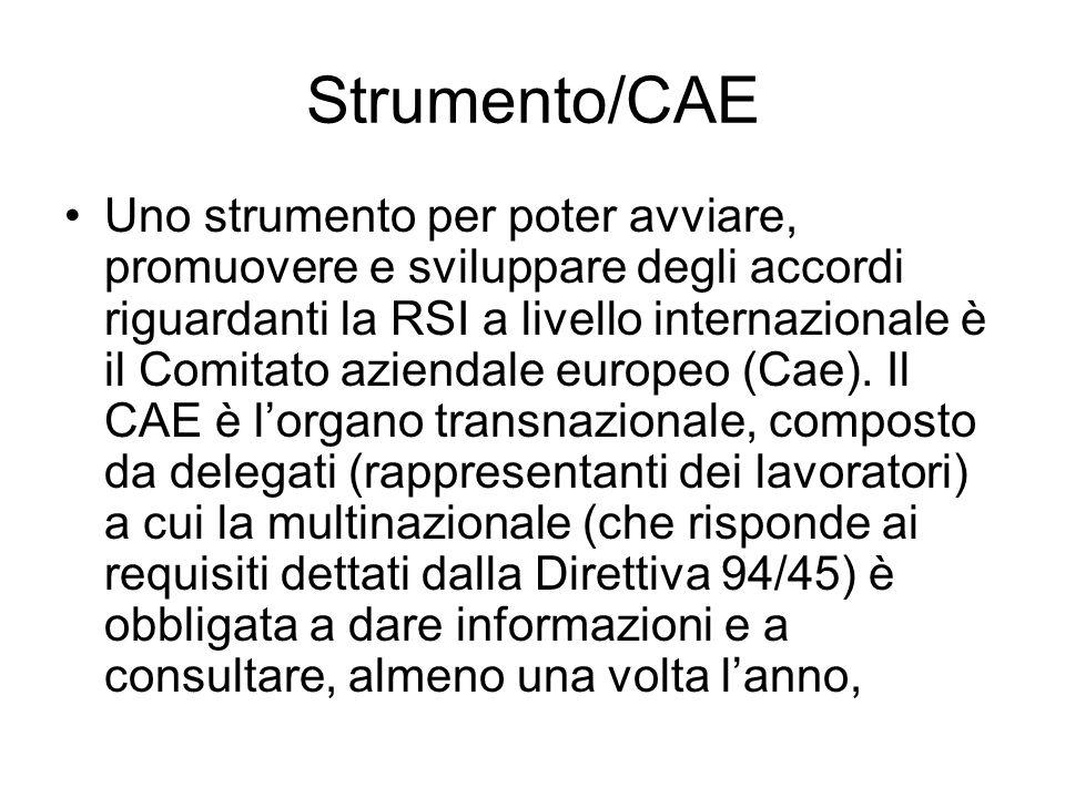 Strumento/CAE