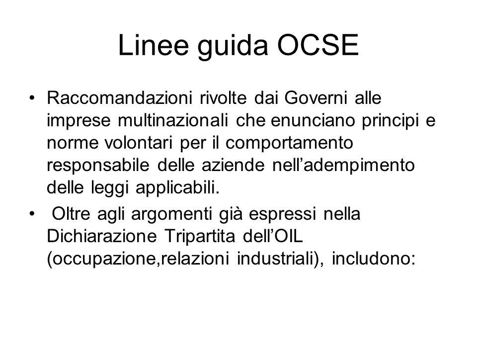 Linee guida OCSE